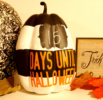 Countdown Pumpkin