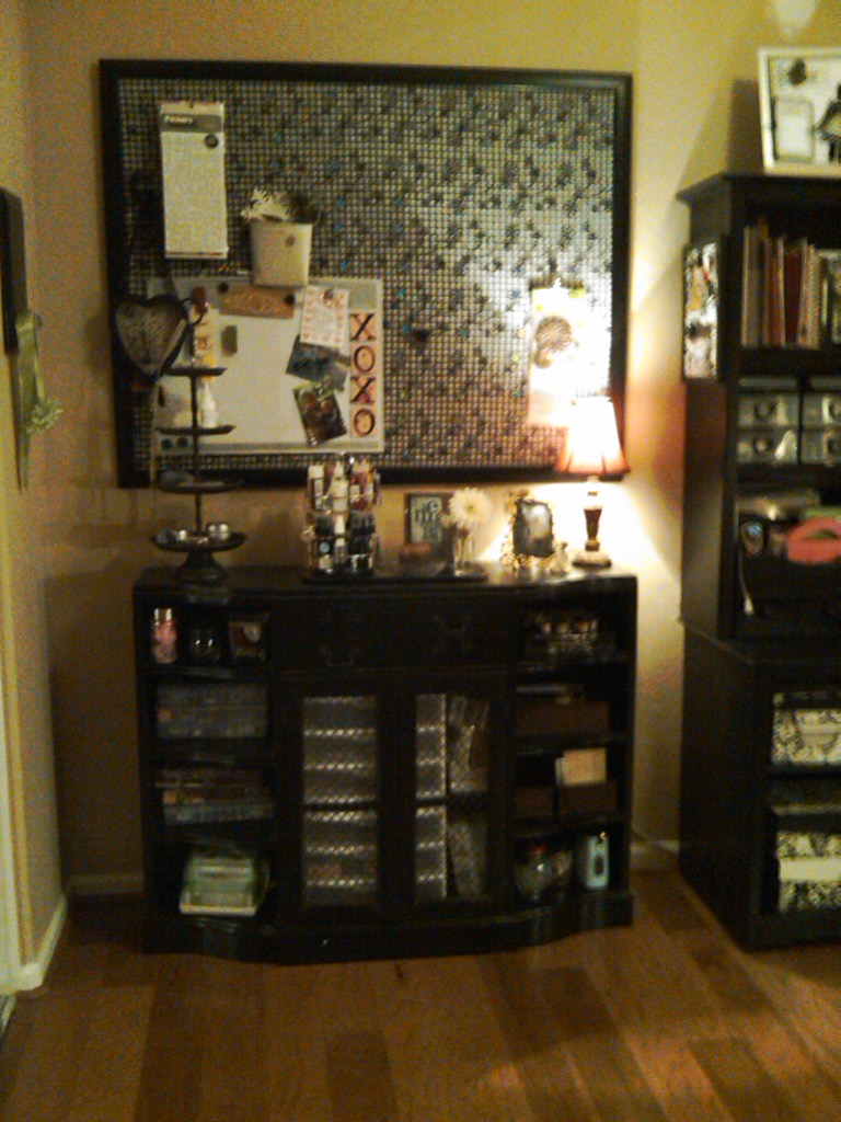 kim's craft space - before