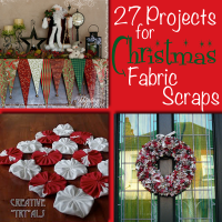 27 Projects for Christmas Fabric Scraps