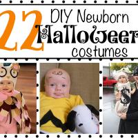 22 DIY Newborn Halloween Costumes
