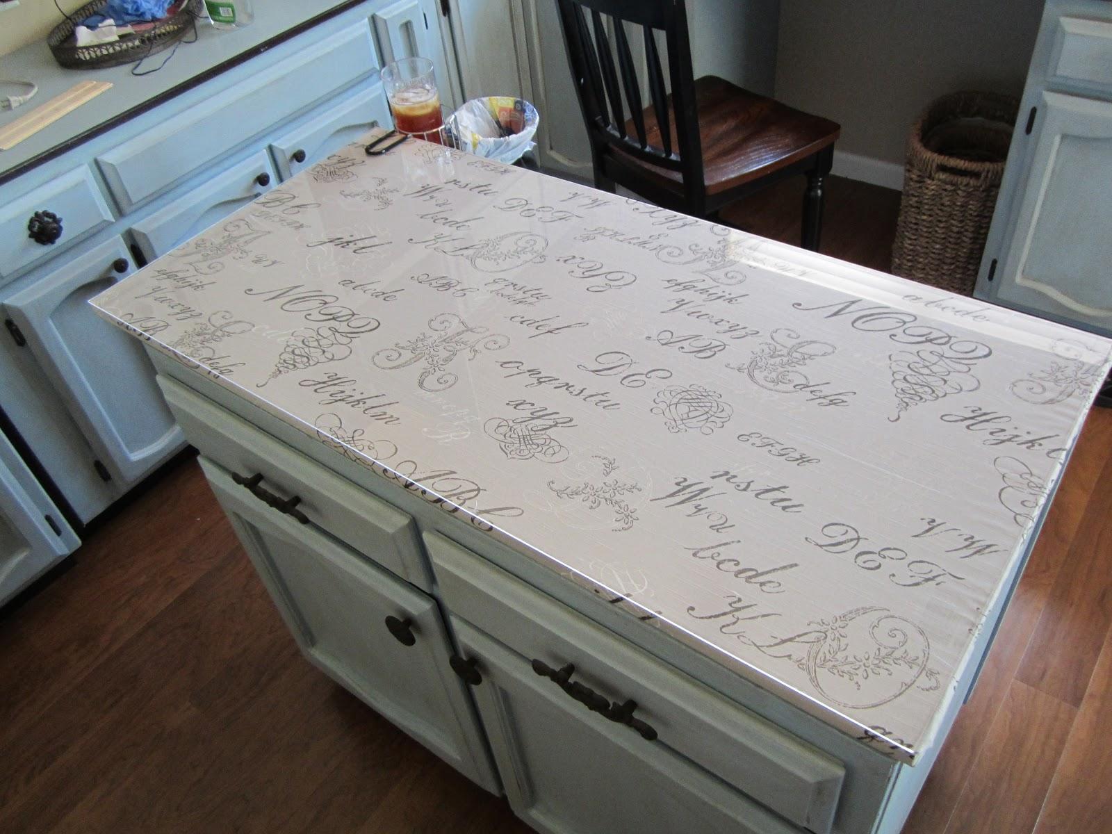 DIY counter top