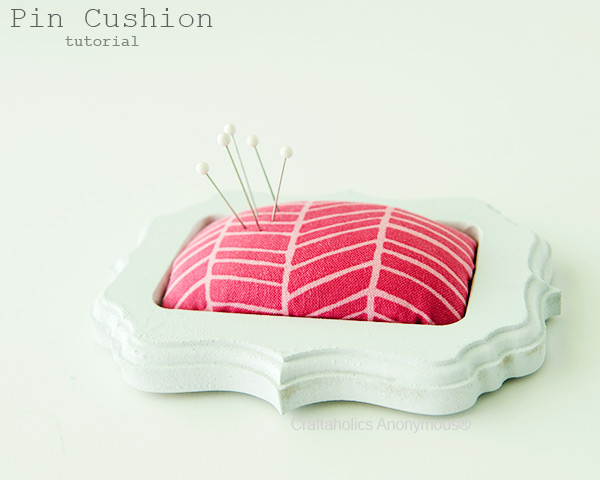 easy pin cushion