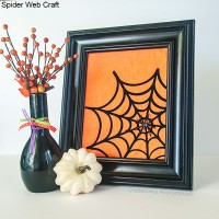 Spider Web craft PLUS Silhouette CAMEO Giveaway!