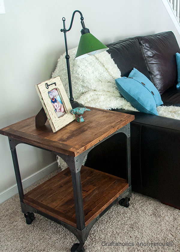 table on casters