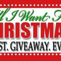 All I want for Christmas {huge} GIVEAWAY!