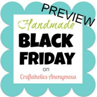Handmade Black Friday – Shop PREVIEW