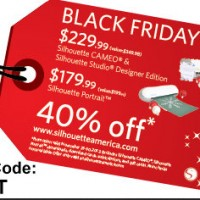 Silhouette BLACK FRIDAY……HUGE Deals & Discounts!!!