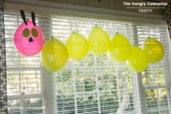 caterpillar party