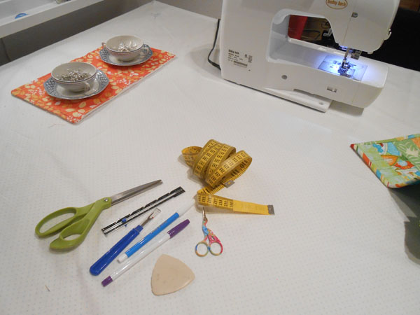 sewing stations