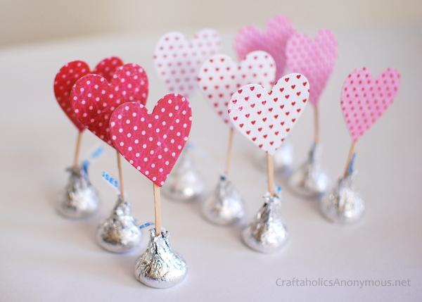 Valentine's day paper crafts