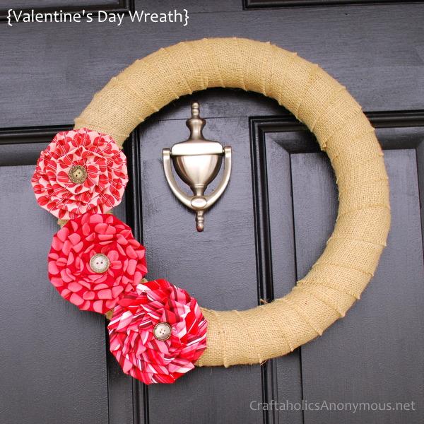 valentine's twine wreath