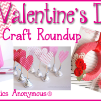 Valentine's Day Crafts Roundup