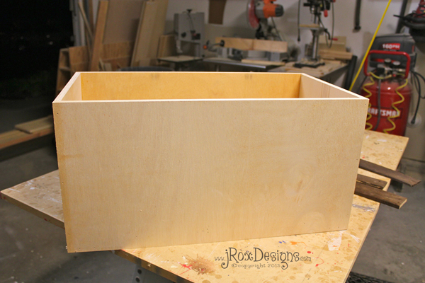 how to make toy box