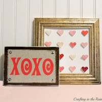 Valentines Tutorial: Painted XOXO Block