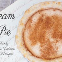Cream Pie – A Family Recipe and Tradition
