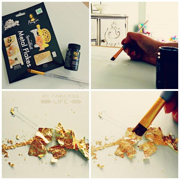 how to gold leaf steps wm