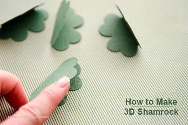 3d shamrock