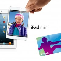iPad Mini + $50 iTunes gift card GIVEAWAY!