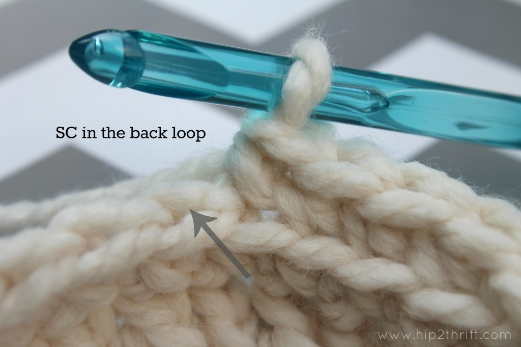 How to crochet a lampshade cover