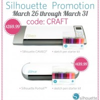 Silhouette Discount + Giveaway Winner