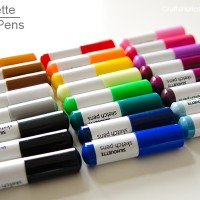 Silhouette Sketch Pens Discount + GIVEAWAY