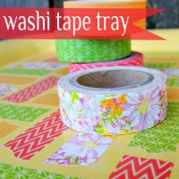 Washi Tape Craft: Tray Makeover
