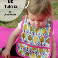 Simple Pocket Bib Pattern and Tutorial