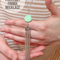 Everyday Fringe Necklace Tutorial