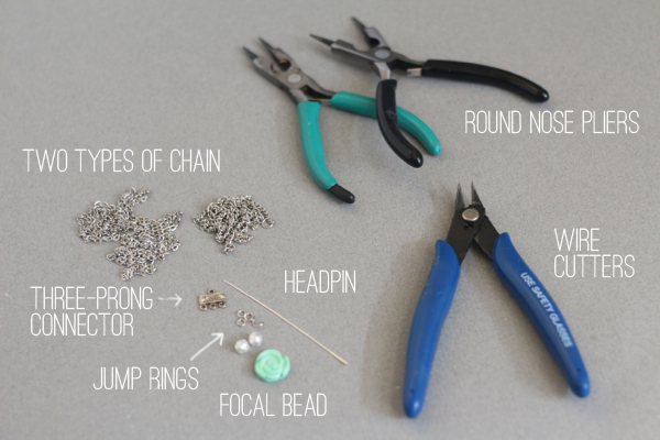 fringe necklace supplies