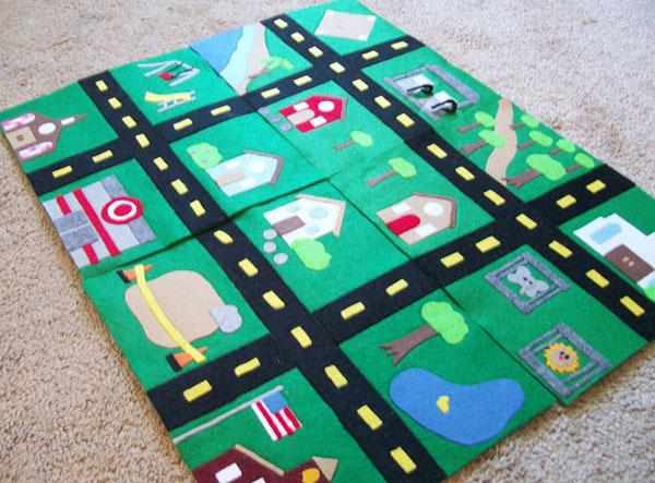 play car mat ideas
