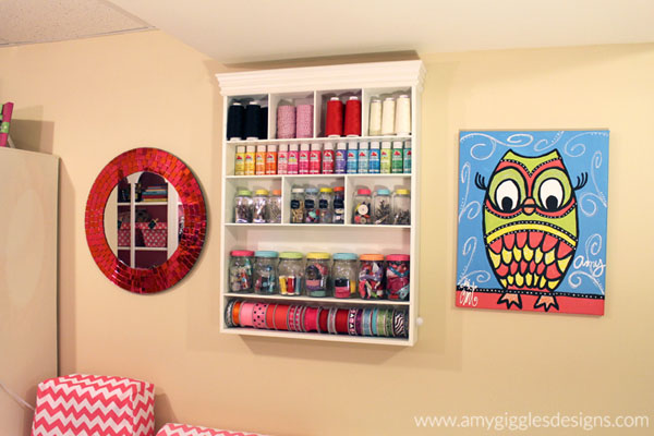 craft paint storage idea