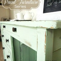 How To Paint Furniture Part 2: Distressing Furniture