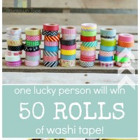 The Ultimate WASHI TAPE Giveaway!