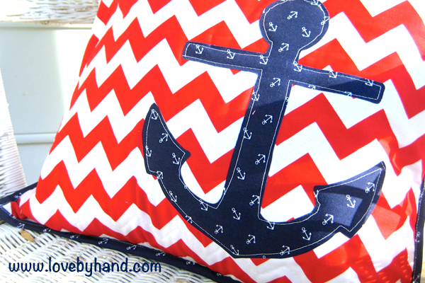 anchor pillow