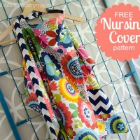 Nursing Cover Pattern with Pocket