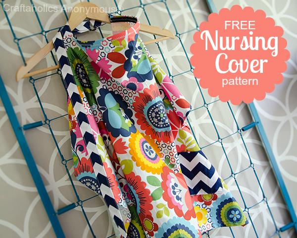 free nursing cover pattern