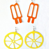 Paper Earrings with Free Cutting Files