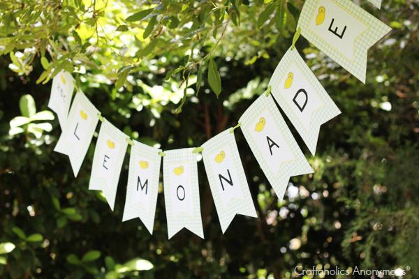 lemonade stand banner