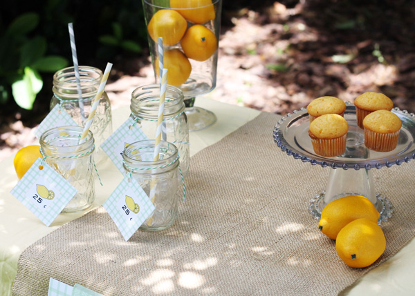 free printables for a lemonade stand