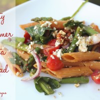 Zesty Summer Pasta Salad Recipe!
