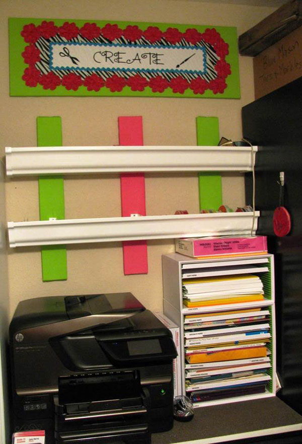 Paper & Ribbon Storage