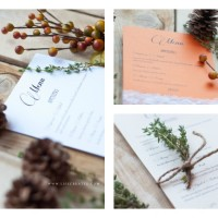 Creating and Styling A Fall Menu