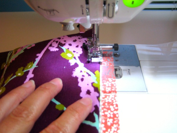 Sew Around Top Stitch