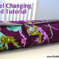 Roll-up Baby Changing Pad Tutorial