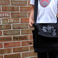 Messenger Bag Tutorial {With Hidden iPad Holder}