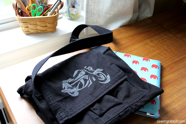 diy messenger bag tutorial