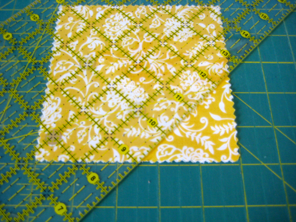 Use Ruler To Cut Fabric