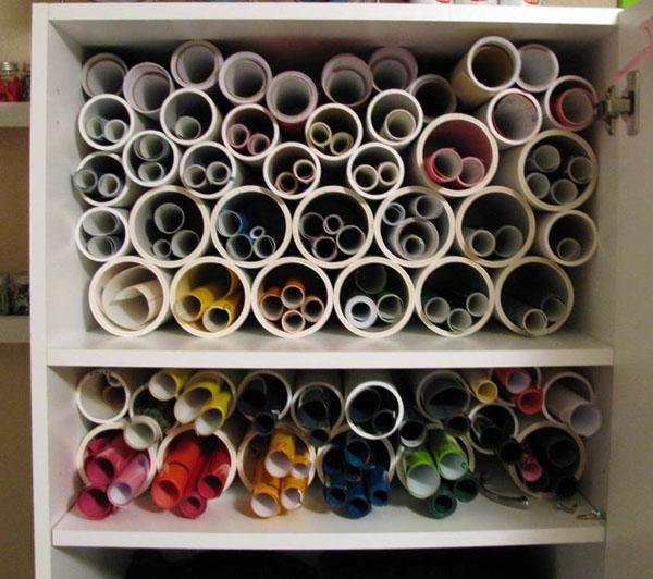 Vinyl PVC Storage