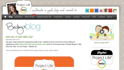 Becky Higgins Blog
