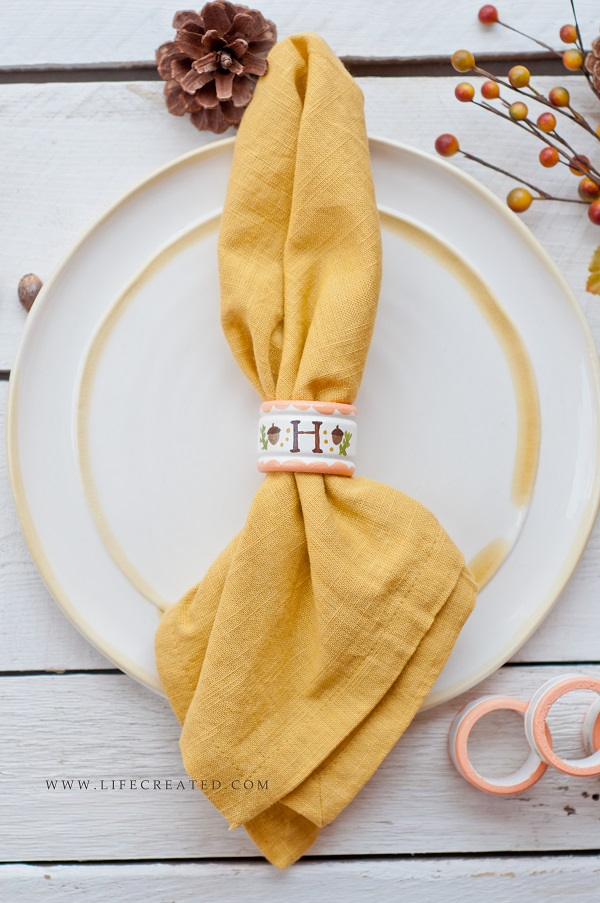 napkin ring tutorial